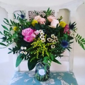 Medium Jar Flowers Surrey